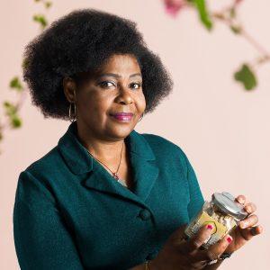 Hermine Nkou, directrice Bioglam's